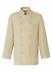 Kuharska jakna u boji - bež