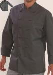 Kuharska jakna u boji - siva